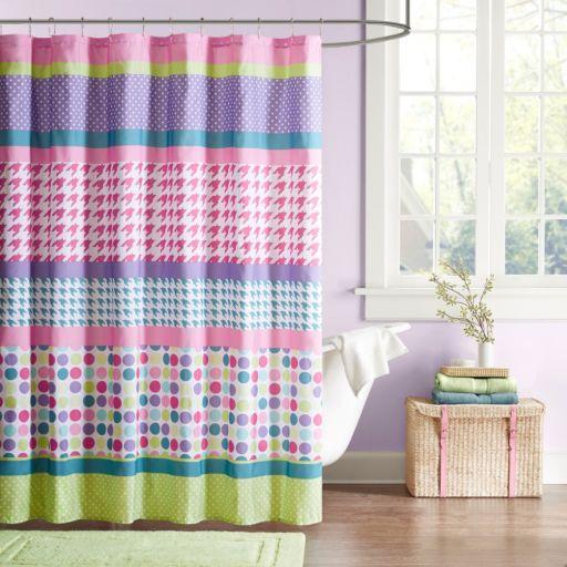 Mi Zone Jenny Fabric Shower Curtain