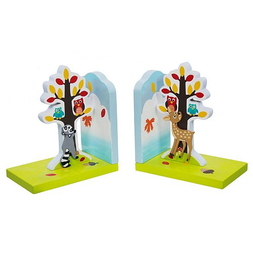 Fantasy Fields Enchanted Woodland Bookends Set
