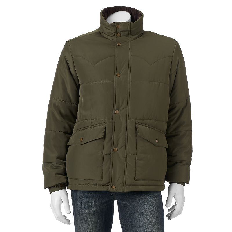 Men's Chaps Quilted Puffer Jacket