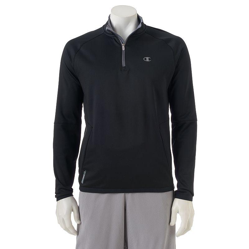 Men's Champion Quarter-Zip Tech Fleece Jacket