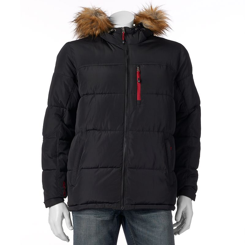 Men's Chaps Quilted Parka