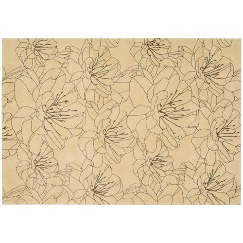 Kathy Ireland Palisades Floral Rug