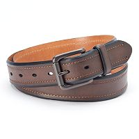 Levi's Brown Beveled-Edge Belt - Men
