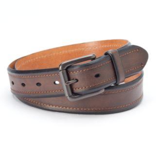 Levi's Brown Beveled-Edge Belt - Men
