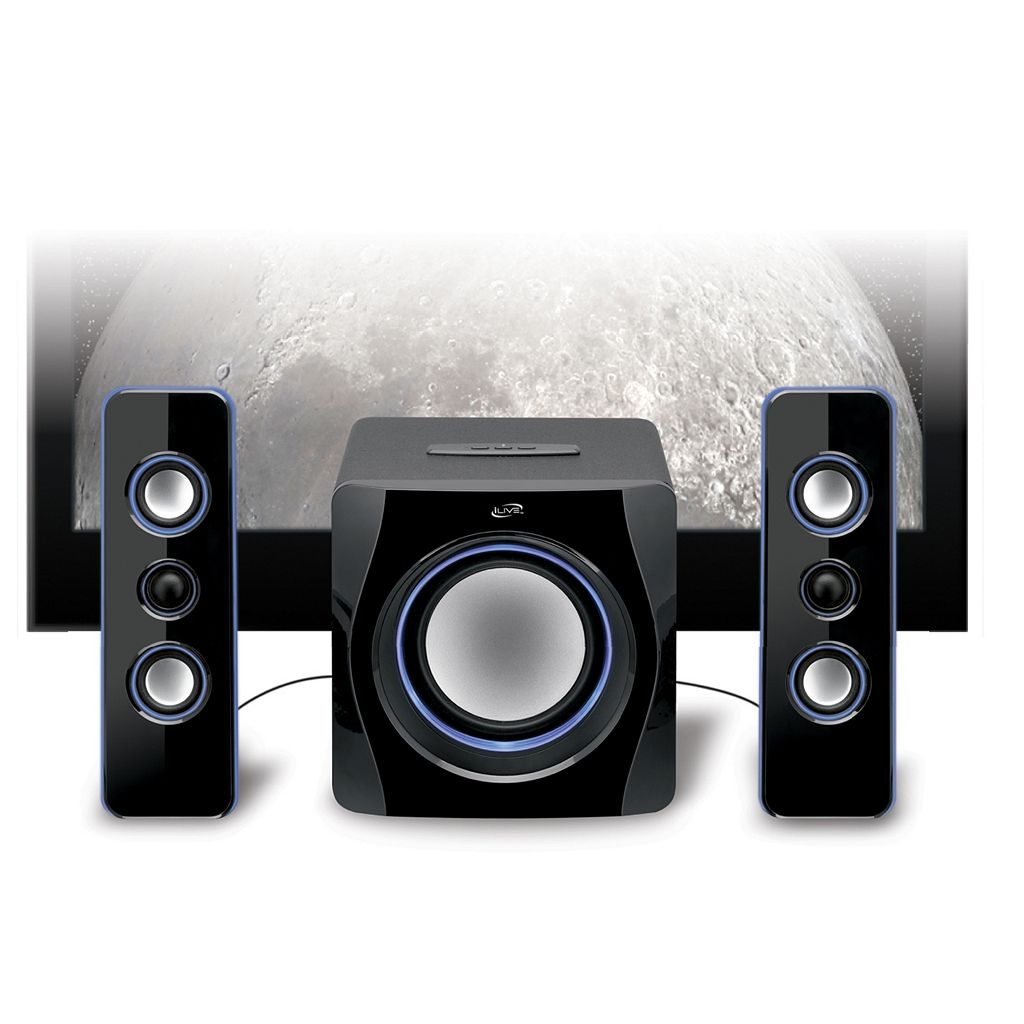 iLive 2.1 Channel Bluetooth Home Music System