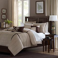 Madison Park Dune 6 pc Pintuck Duvet Cover Set