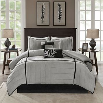 Madison Park Meyers 7-pc. Pintuck Comforter Set