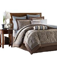 Madison Park Whitman 12 pc Paisley Bed Set