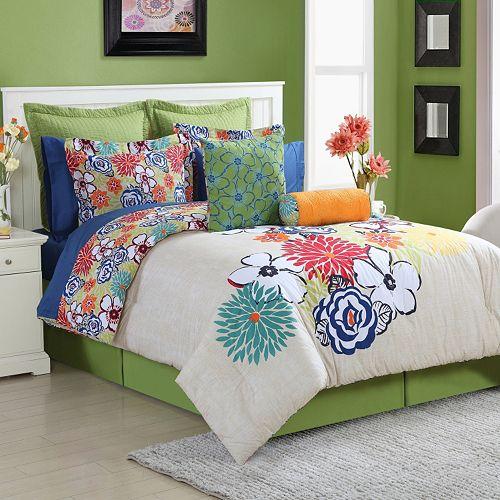 Fiesta Lucia Reversible Comforter Set