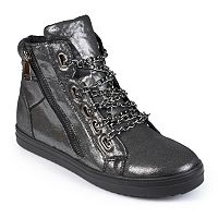 Journee Collection Women's High-Top Sneakers