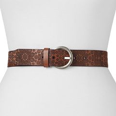 Relic by Fossil Starry Embossed Floral Belt - Women