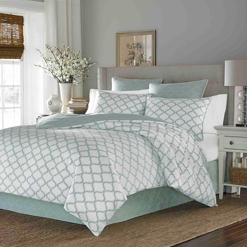 Stone Cottage Savannah Trellis 3-pc. Duvet Cover Set