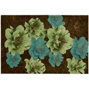 Kathy Ireland Palisades Bold Floral Rug