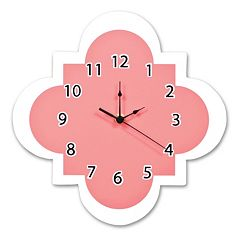Trend Lab Quatrefoil Wall Clock