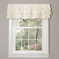 Lush Decor Belle Ruffled Window Valance - 84'' x 18''