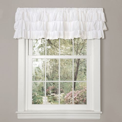 Lush Decor Belle Ruffled Window Valance - 84'' x 18''