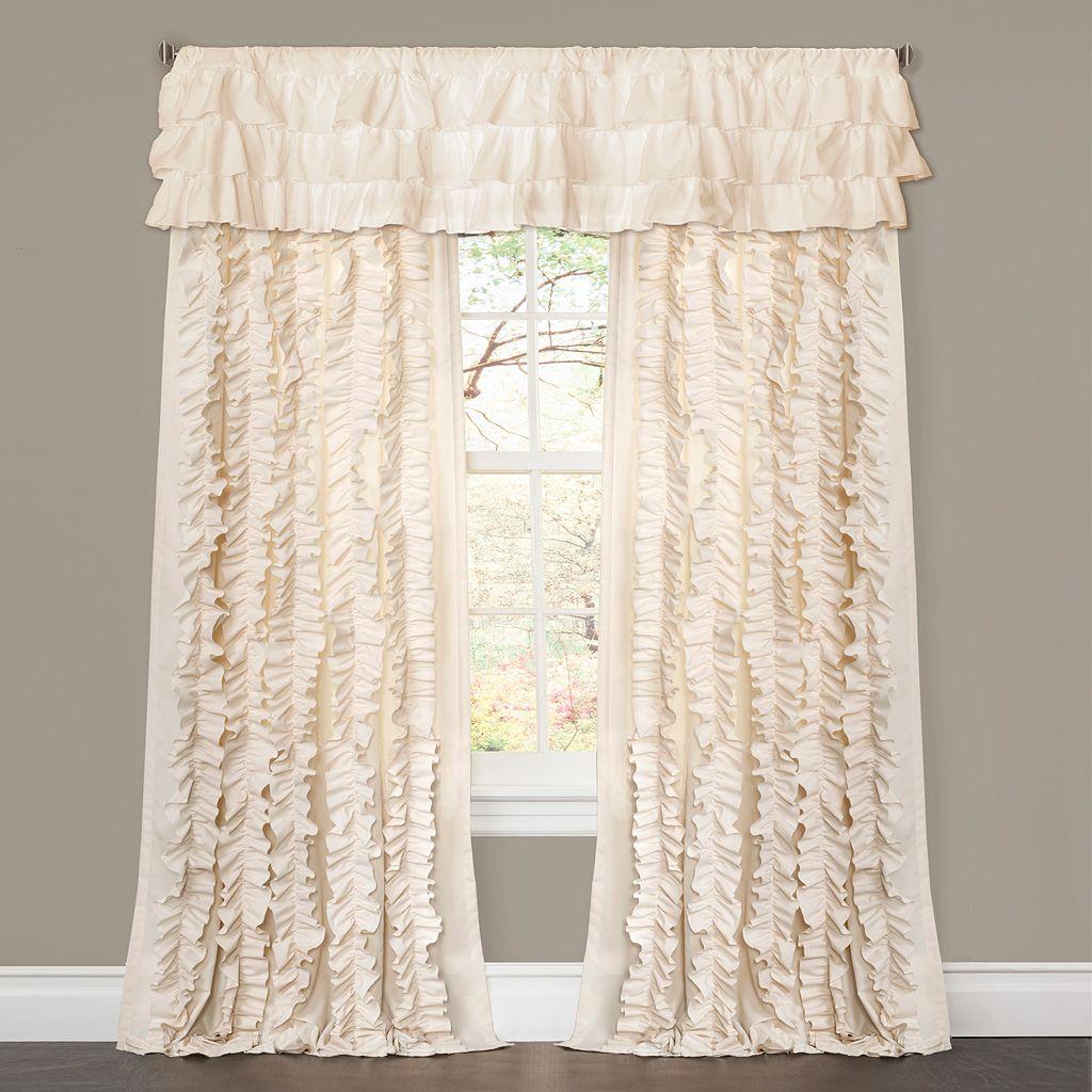 Lush Decor Belle Ruffled Window Curtain - 54'' x 84''