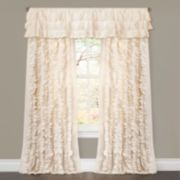 Lush Decor Belle Ruffled Window Curtain - 54'' x 84''