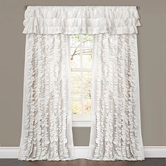Lush Decor 1-Panel Belle Ruffled Window Curtain - 54'' x 84''