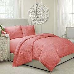 Vue Barcelona 3 pc Quilted Duvet Cover Set