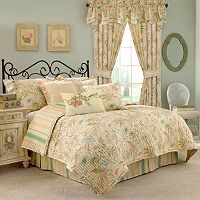 Waverly Cape Coral 3 pc Reversible Quilt Set