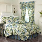 Waverly Floral Flourish Reversible Quilt Set