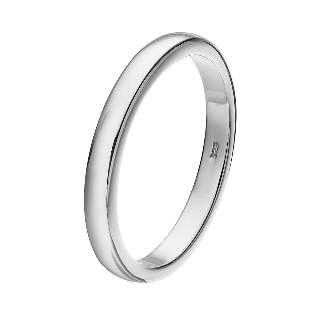 I Promise You Men's Sterling Silver Promise Ring