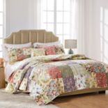 Blooming Prairie 5 pc Reversible Floral Quilt Set