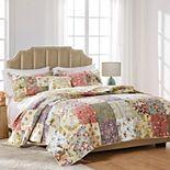 Blooming Prairie 5-pc. Reversible Floral Quilt Set