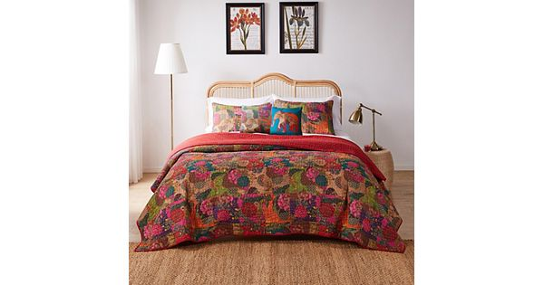 Jewel 4 Pc Quilt Set