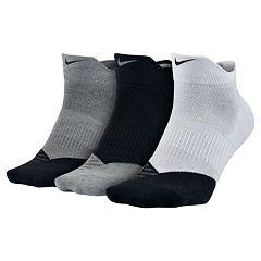Men's Nike 3-pack Dri-Fit Lo-Quarter Training Socks