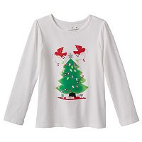 Girls 4-7 Jumping Beans® Christmas Tee