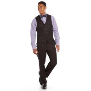 Men's Steve Harvey Classic-Fit Maroon Suit Vest