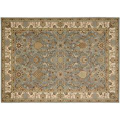 Kathy Ireland Lumiere Stateroom Arabesque Blossom Wool Rug