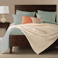 Peyton Cable-Knit Coverlet