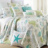 Biscayne Reversible Quilt Set