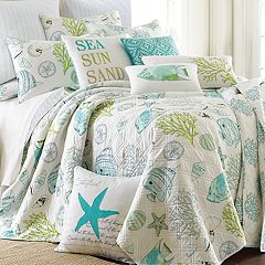 Biscayne Reversible Quilt Set