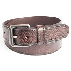 Men's Levi's® Leather Roller-Buckle Belt