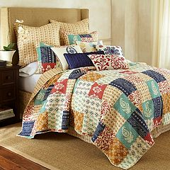 Jasmin Reversible Quilt Set