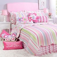 Merrill Girl Reversible Quilt Set