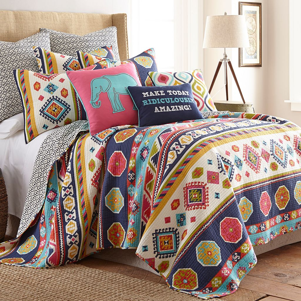 Swazi Reversible Quilt Set