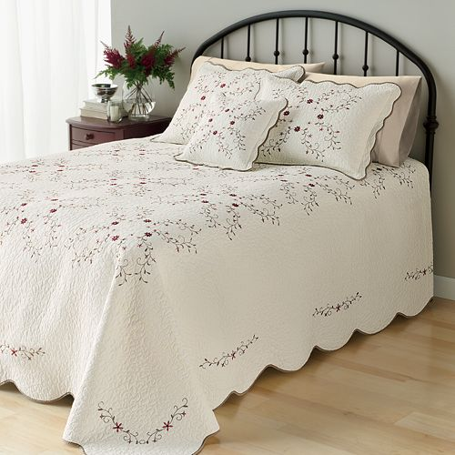 Home Classics Amelia Quilted Bedspread