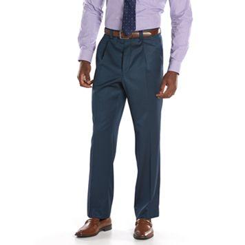 Men's Steve Harvey Classic-Fit Blue Pleated Suit Pants