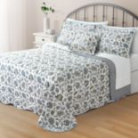 Home Classics® Clair Jacobean Reversible Bedspread