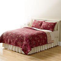 Home Classics® Sarah Jacobean Reversible Quilt