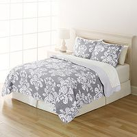 Home Classics Twin Reversible Quilt (Multiple Colors)