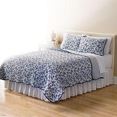 Home Classics® Sarah Toile Reversible Quilt