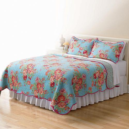 Home Classics® Sarah Bright Floral Quilt