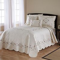 Amber Quilted Bedspread