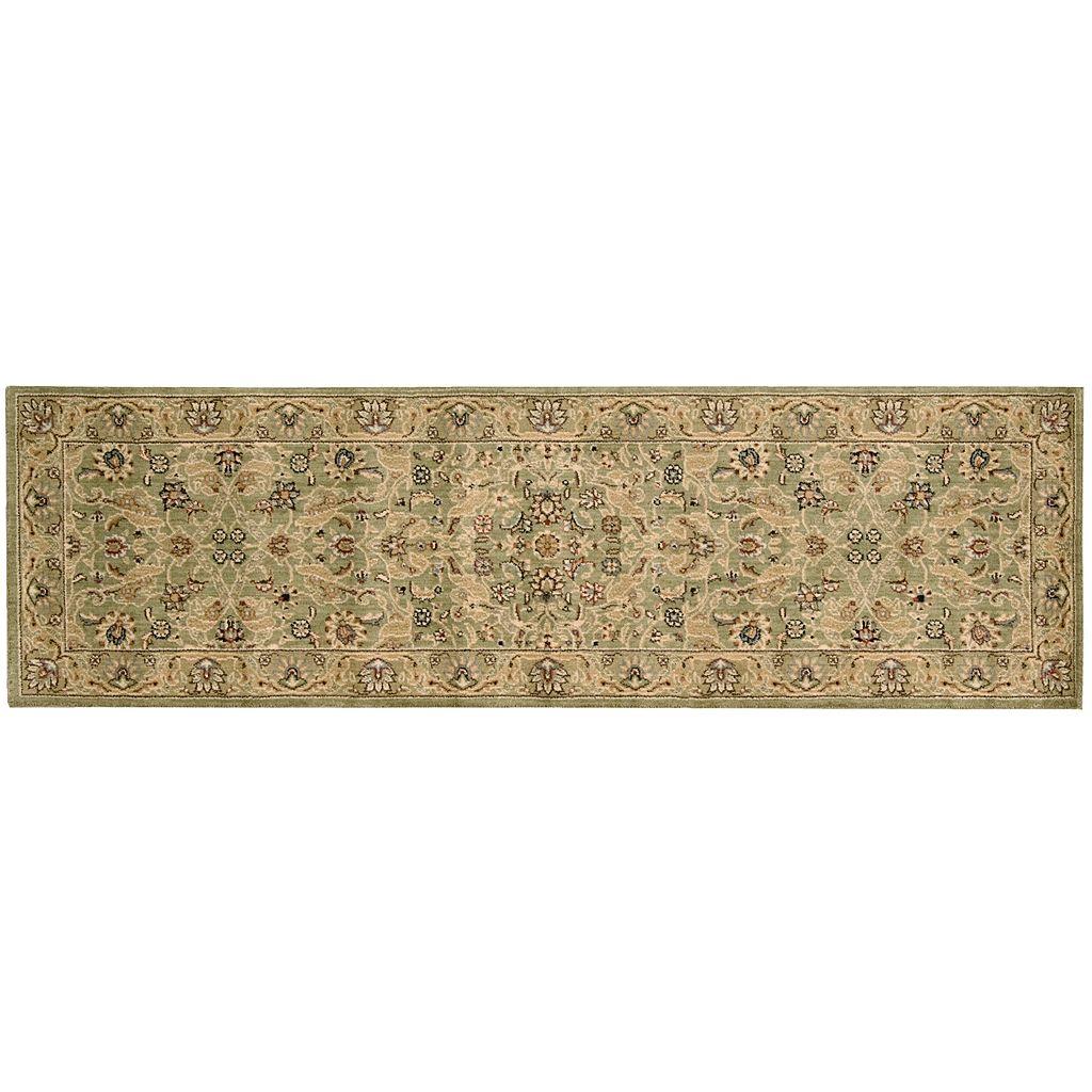 Kathy Ireland Lumiere Royal Countryside Arabesque Blossom Wool Rug